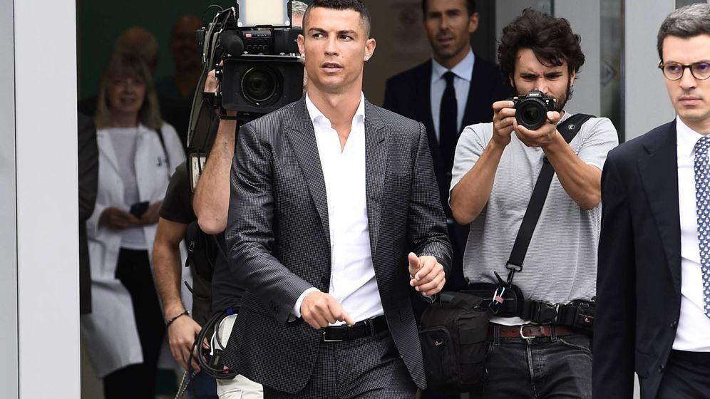 Foto: Cristiano Ronaldo en Turín, donde ya es todo un fenómeno. (Cordon Press)