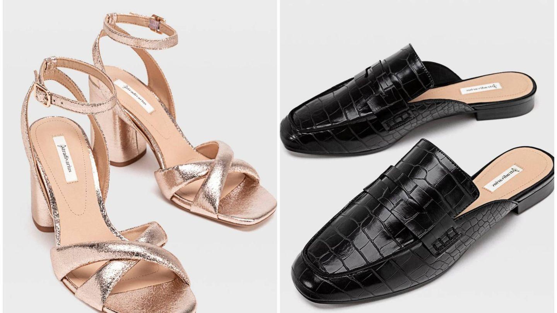 Nuevos zapatos de Stradivarius. (Cortesía)
