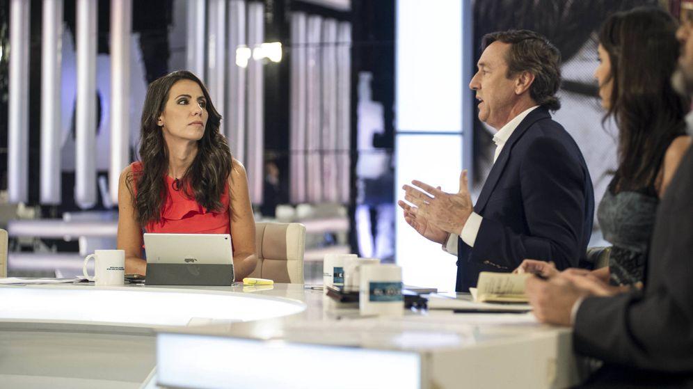 Foto: Zasca de Ana Pastor a Rafael Hernando en 'El objetivo' sobre TVE y TV3. (La Sexta)