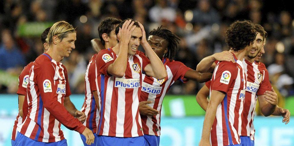 Foto: El Atlético de Madrid ha conformado una plantilla muy completa en todas las líneas y con el objetivo de pelear todos los títulos (EFE)