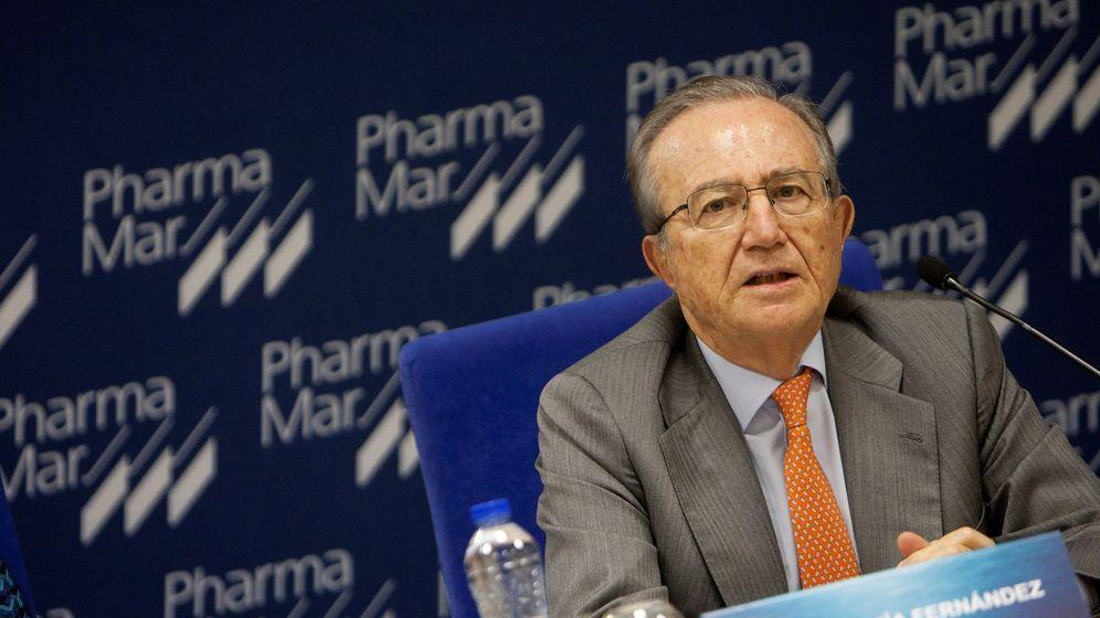 Foto: El presidente de PharmaMar, José Mª Fernández de Sousa. (EFE)