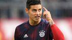 Los nervios de James y el Real Madrid (con trifulca en el Bayern de Múnich)