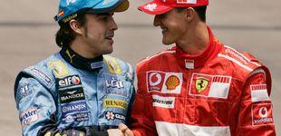 Post de El emotivo recuerdo de Alonso a Schumi: