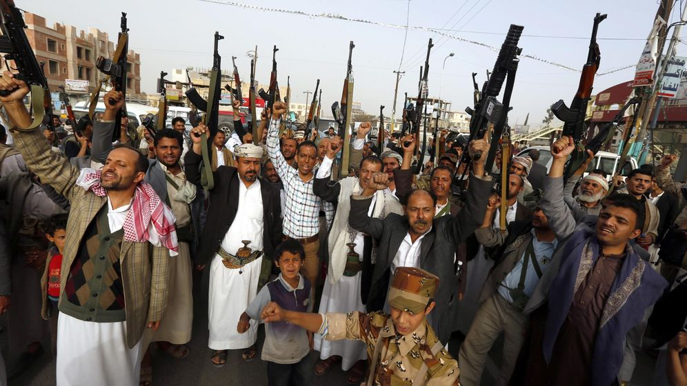 Foto: El bombardeo de Arabia Saudí en Yemen, en imágenes