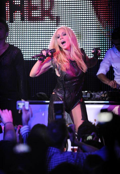 Foto: La cantante durante un concierto en Madrid
