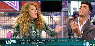 Post de 'Deluxe'   Sofía Cristo entra en cólera contra Kiko Jiménez: