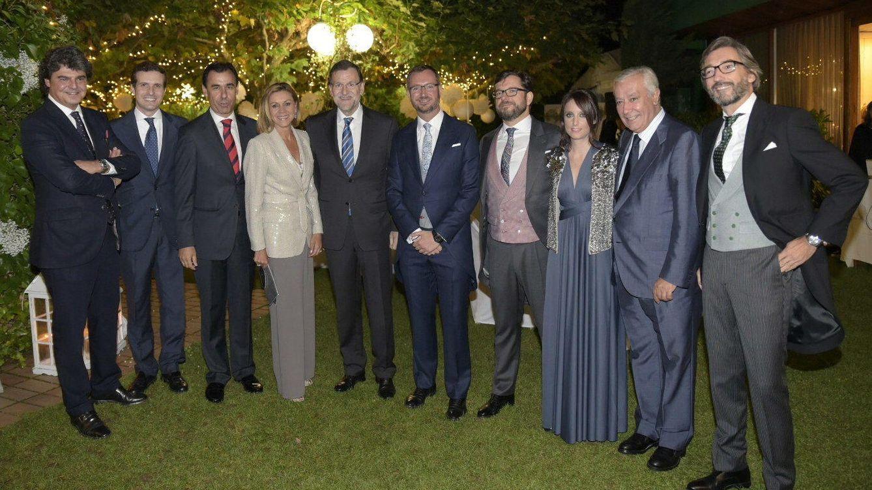 Foto: La cúpula del PP reunida en la boda de Javier Maroto y su ya marido, Josema Rodríguez (Efe)