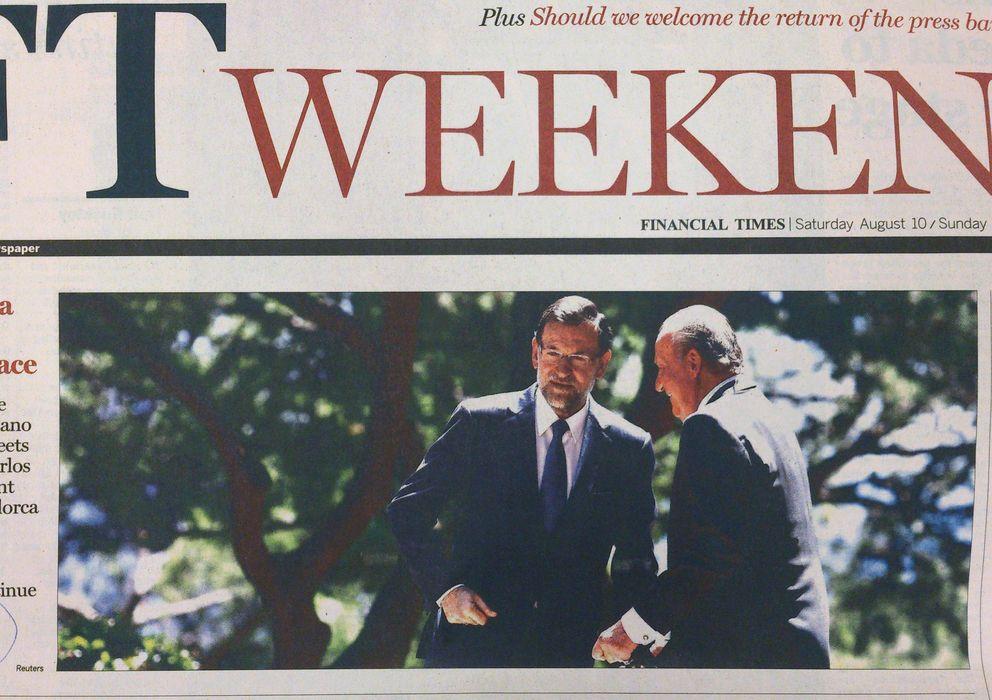 Foto: Portada del Financial Times.