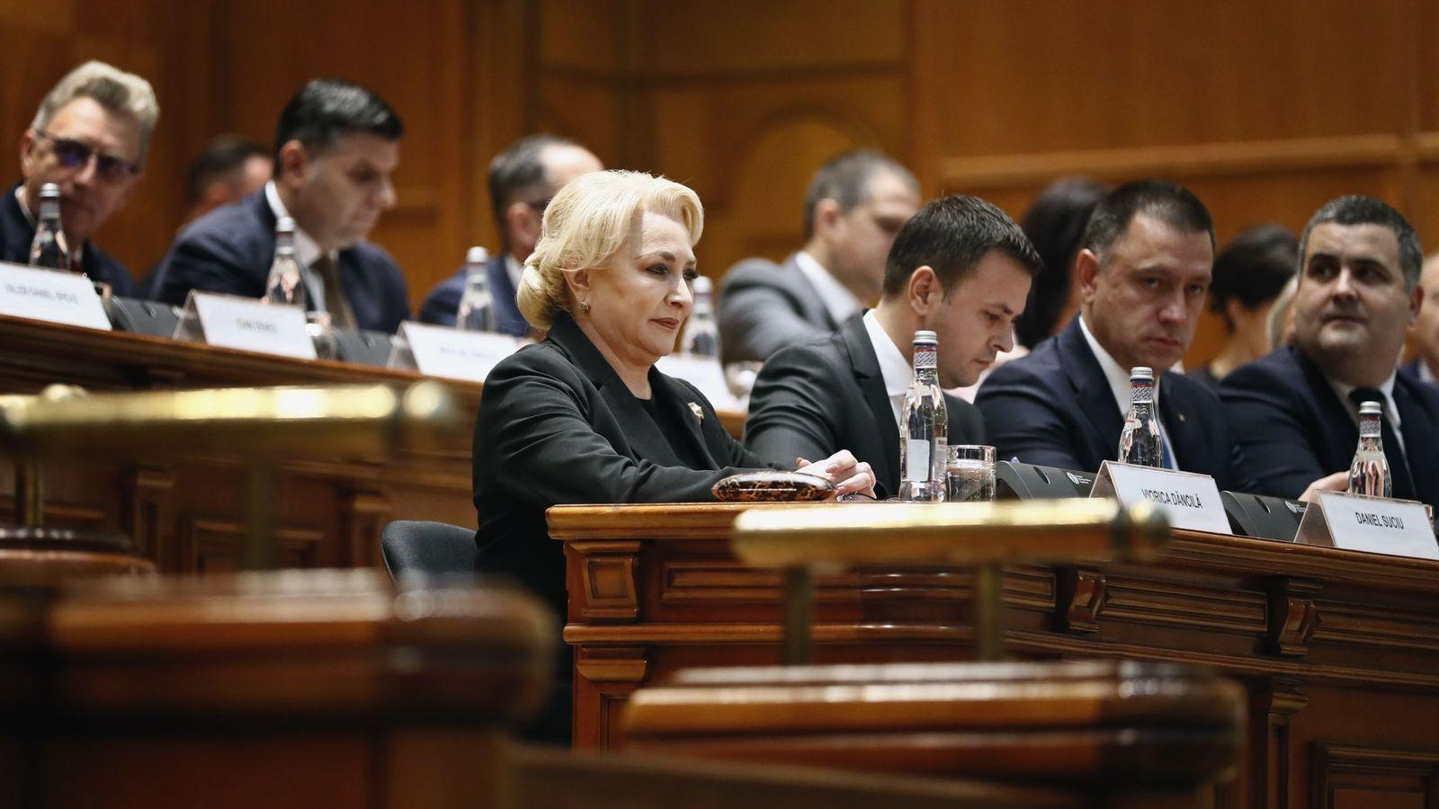 Foto: La primera ministra rumana, Viorica Fancila. (EFE)