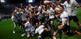 Post de La Liga en la que Zidane supo calmar el hambre del caníbal Cristiano