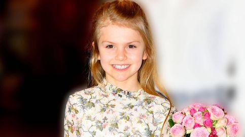 Estelle de Suecia, una princesa de ocho años con joyas de 600 euros