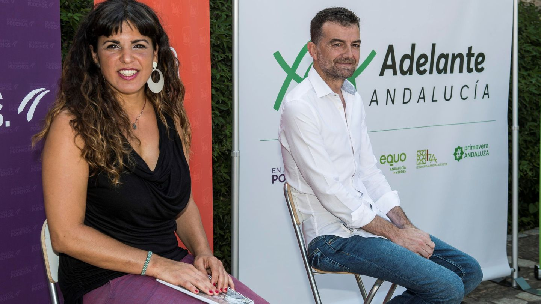 La coordinadora general de Podemos Andalucía, Teresa Rodríguez. (EFE)
