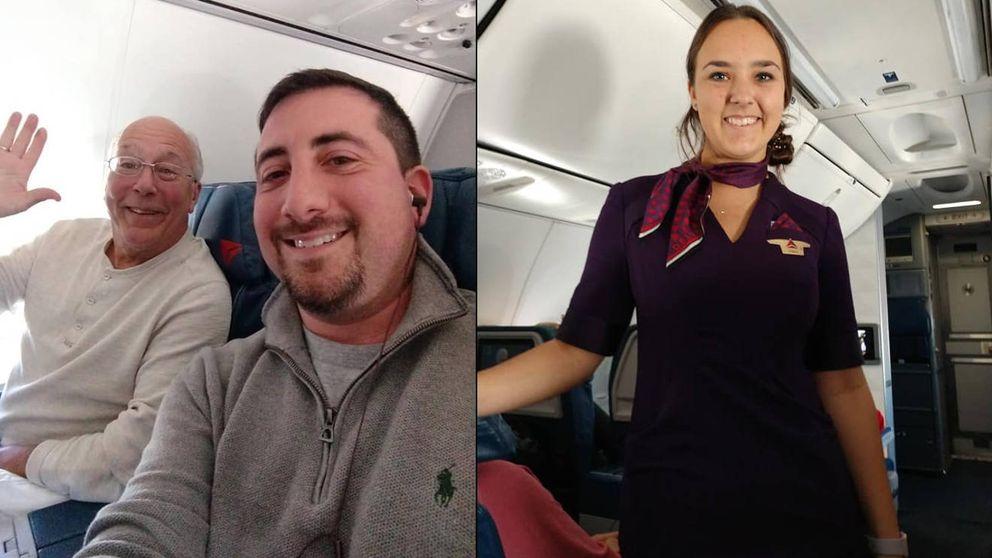 Un padre compra seis billetes de avión para pasar la Navidad con su hija azafata
