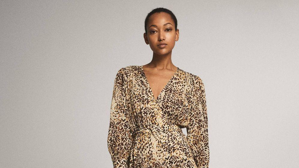 Foto: Este vestido de Massimo Dutti perfecto para ir a trabajar. (Cortesía)