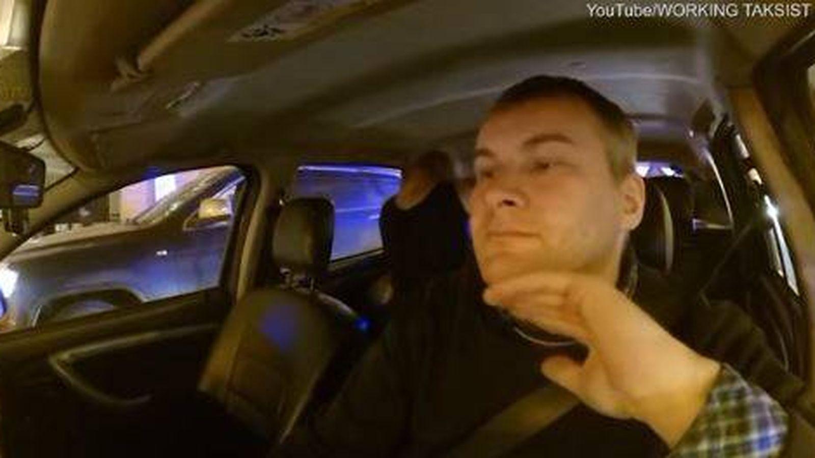 Foto: Captura del taxi. (Youtube)
