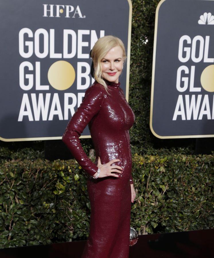 Foto: Nicole Kidman en los pasados Globos de Oro. (EFE EPA)