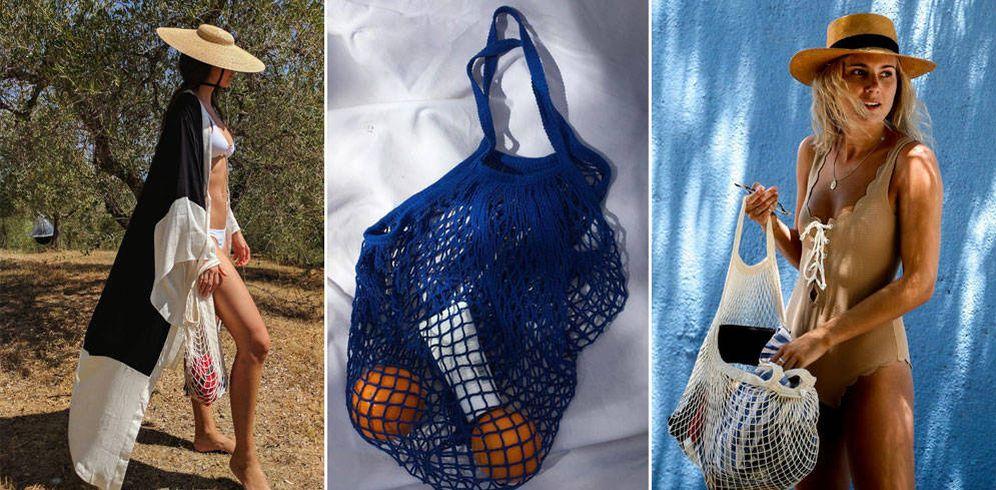 Foto: Sí, la bolsa que tu abuela utilizaba para ir al mercado de abastos, ahora, es tendencia. (Fotos: Instagram)