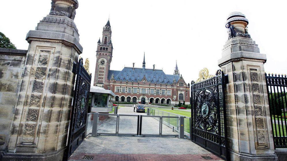 Foto: Imagen de la sede de la Corte Permanente de Arbitraje (PCA) en el Palacio de la Paz en La Haya (Holanda). (EFE)