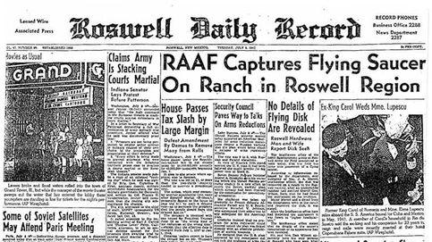 El diario secreto de un oficial del ejército de EEUU reaviva el incidente Roswell