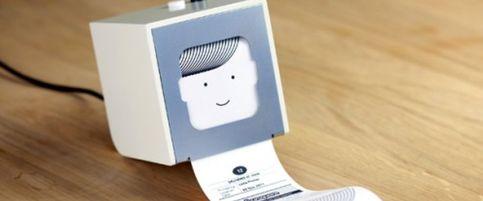 Foto: Una mini impresora enamora a la red