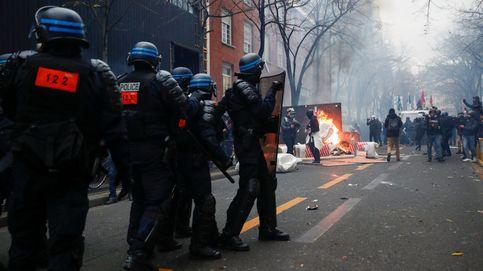 95 detenidos y 67 agentes heridos en Francia tras las protestas contra la Ley de Seguridad