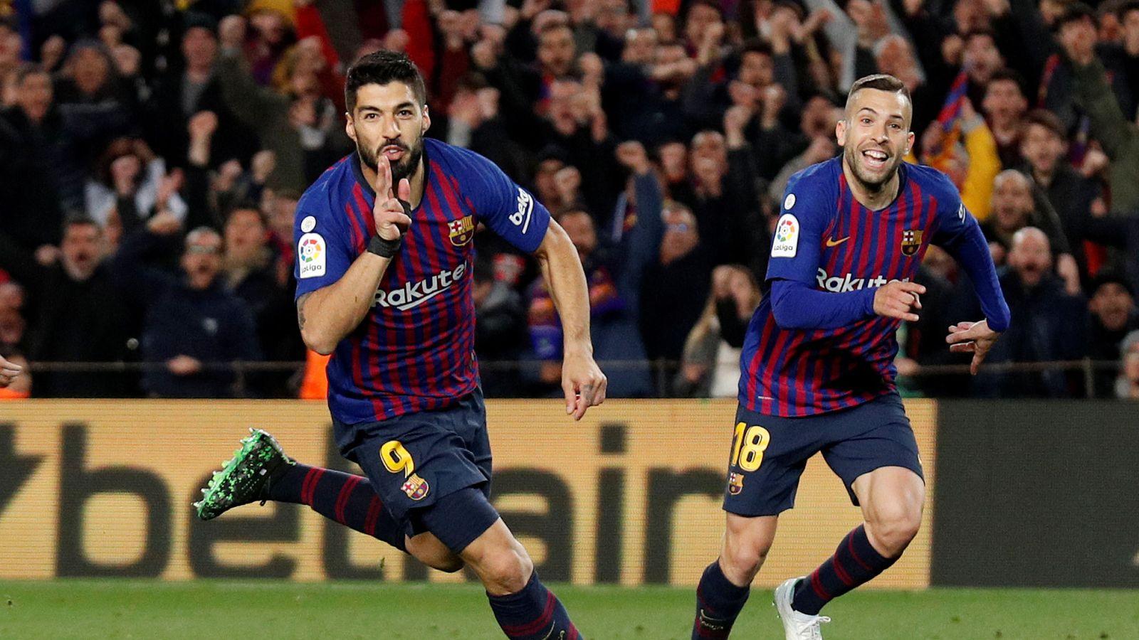 Foto: La liga santander - fc barcelona v atletico madrid
