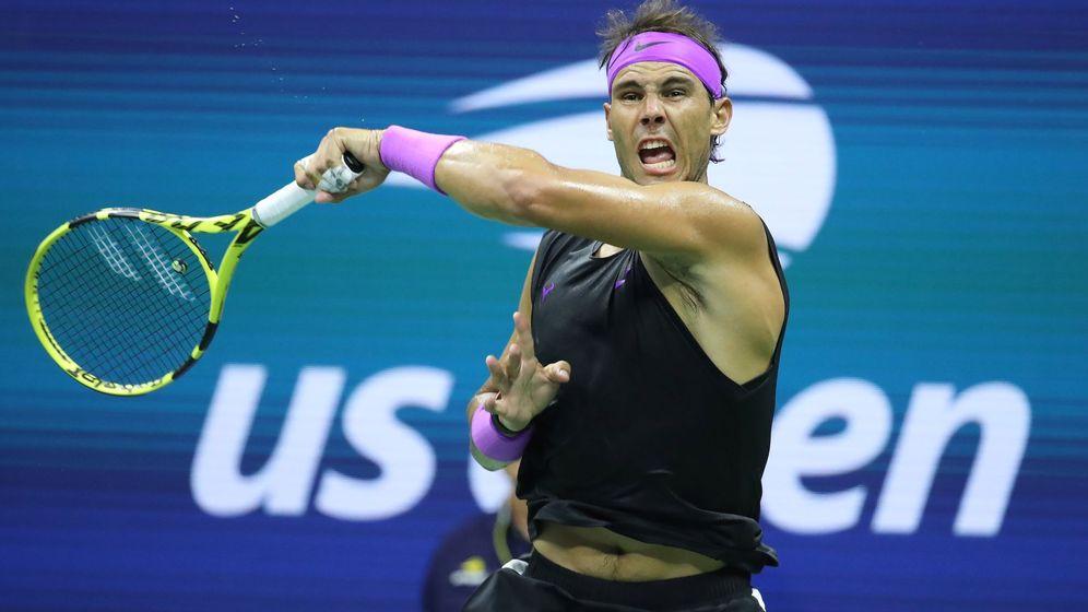 Foto: Rafael Nadal durante su partido contra John Millman durante el US Open. (EFE)