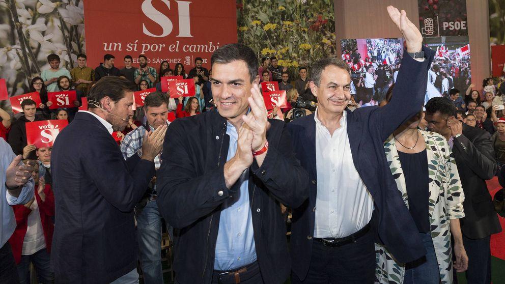 Zapatero cierra filas con Sánchez después del 'cortejo' de Iglesias