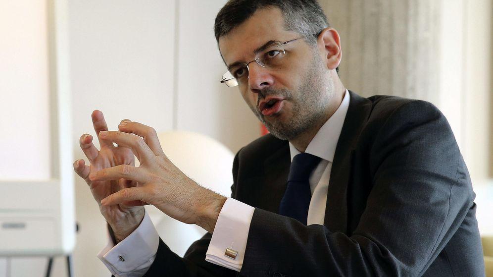 Foto: El nuevo consejero delegado de Abengoa, Santiago Seage (Efe)