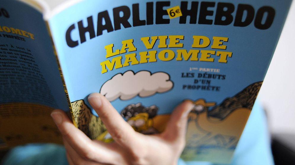 Foto: La portada de la edición especial de la revista satírica Charlie Hebdo tras el atentado. (Efe)