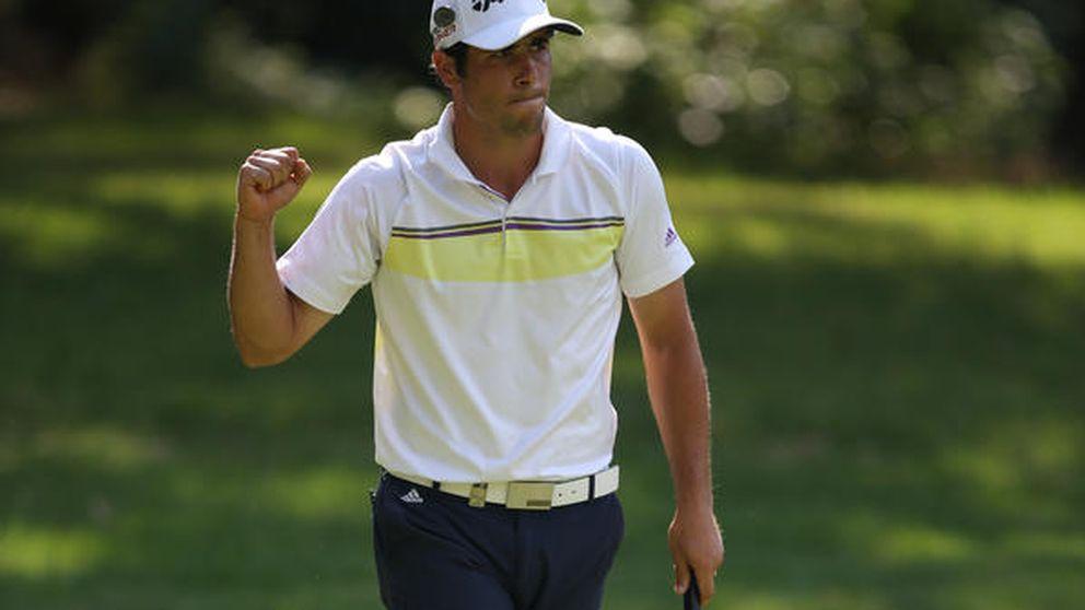 Otaegui, un error que no esconde por qué es una promesa del golf
