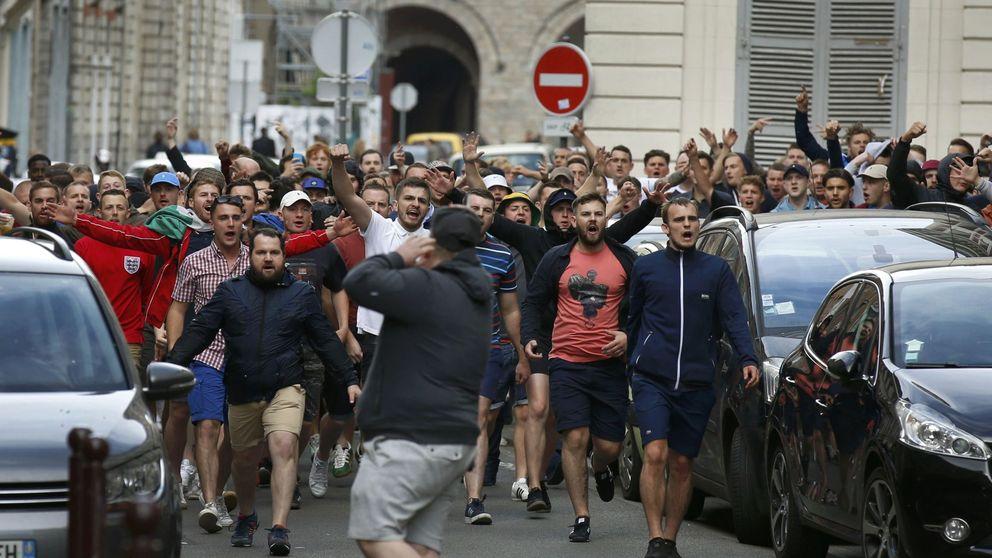 La Policía interviene en Lille para evitar otra batalla  entre ingleses y rusos