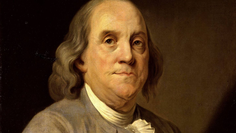 Benjamin Franklin por Joseph Duplessis.