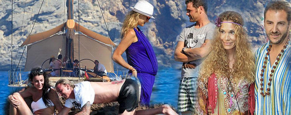 Foto: Famosos por España: Ibiza, la isla que nunca duerme