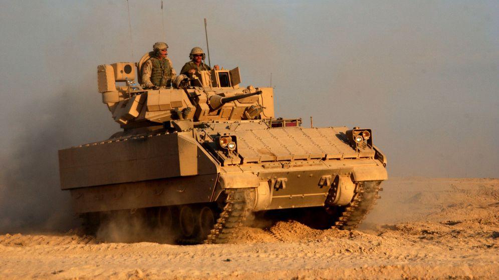 Foto: La firma española está convencida de que suministrará transmisiones al ejército de Estados Unidos. (Wikipedia)