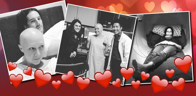 Shannen Doherty lucha contra el cáncer con corazones de Instagram