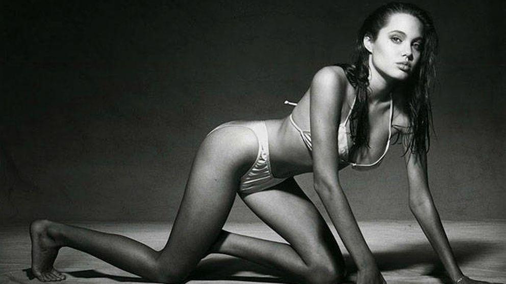 Las fotografías más sexis de una (todavía desconocida) Angelina Jolie de 15 años