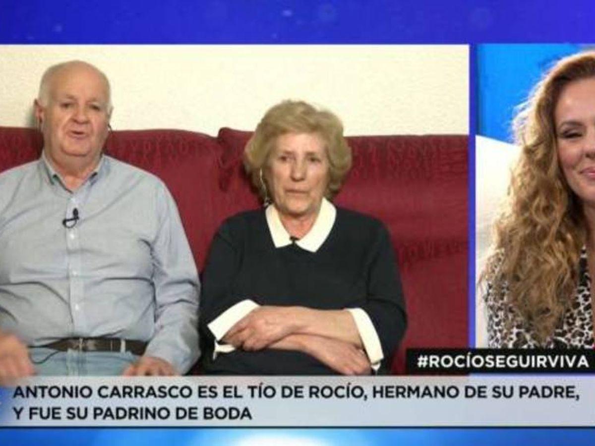 Foto: Antonio Carrasco, durante su intervención. (Mediaset)