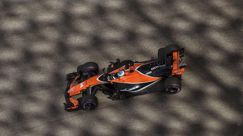 Foto: Alonso con Honda, muchas sombras y pocas luces. (EFE)