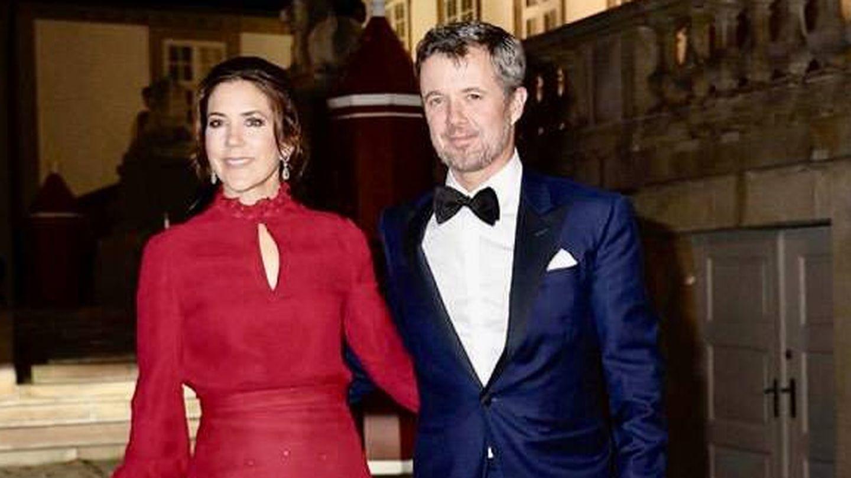 Federico y Mary de Dinamarca, en el palacio de Fredensborg. (Casa Real Danesa)