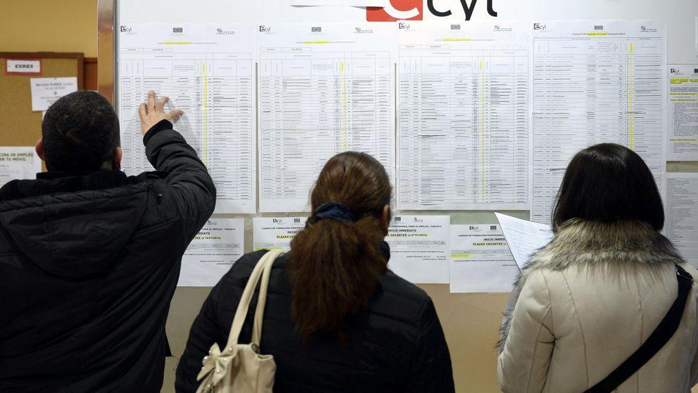 Balance de la legislatura del paro: 26 provincias no mejoran los datos de 2011
