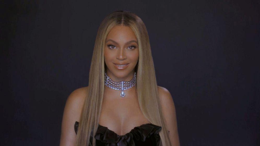 Foto: Beyoncé, durante una reciente gala solidaria. (Reuters)