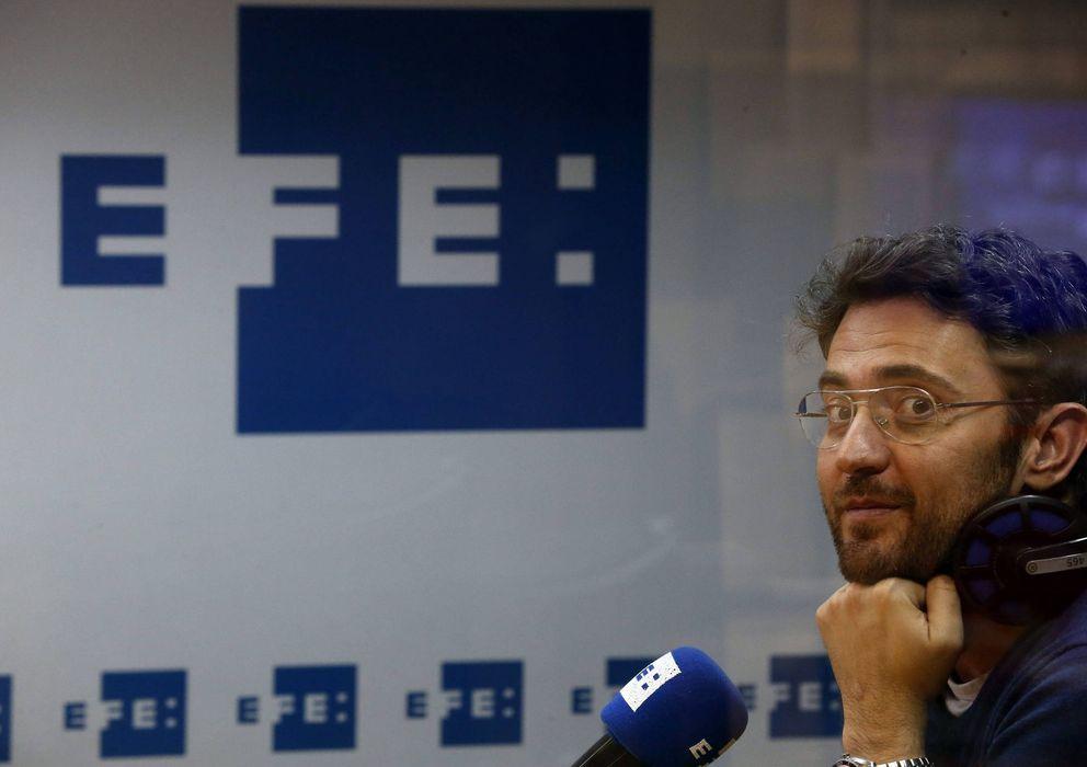 Foto: El periodista Màxim Huerta, ganador del premio Primavera de novela 2014. (Efe)