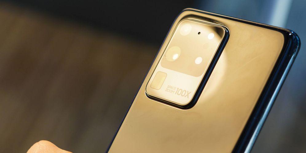 Foto: El Samsung Galaxy S20 Ultra tiene cien aumentos digitales en su cámara trasera. (M. Mcloughlin)