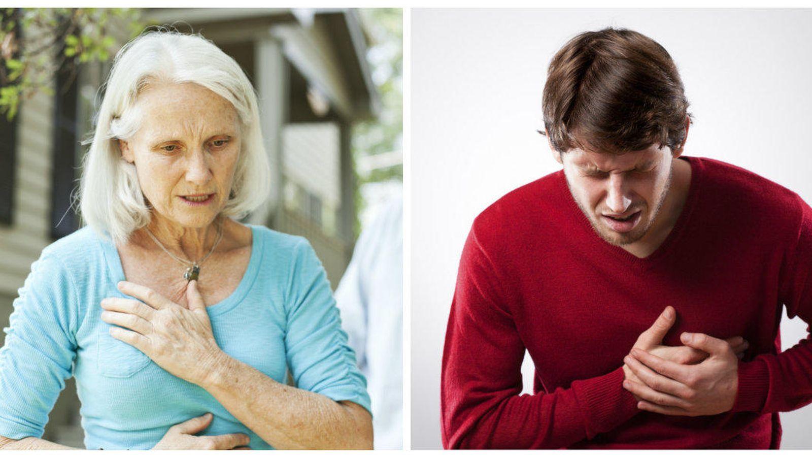 Foto: Las mujeres sufren los infartos a mayor edad, pero con la misma frecuencia. (iStock)
