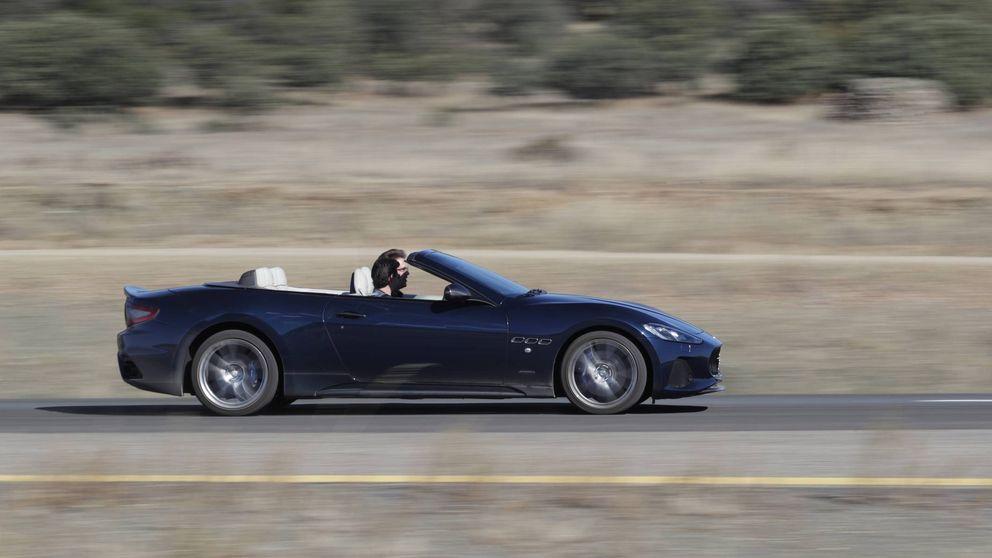 Maserati GranCabrio, un descapotable de cuatro plazas con alma de Ferrari