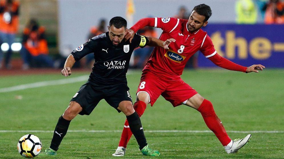Foto: Xavi Hernández juega en el Al Sadd catarí desde 2015. (EFE)