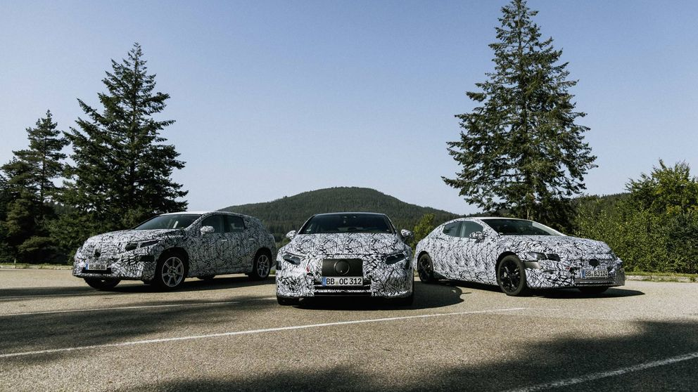 Mercedes trabaja en seis nuevos modelos eléctricos del EQA al EQS