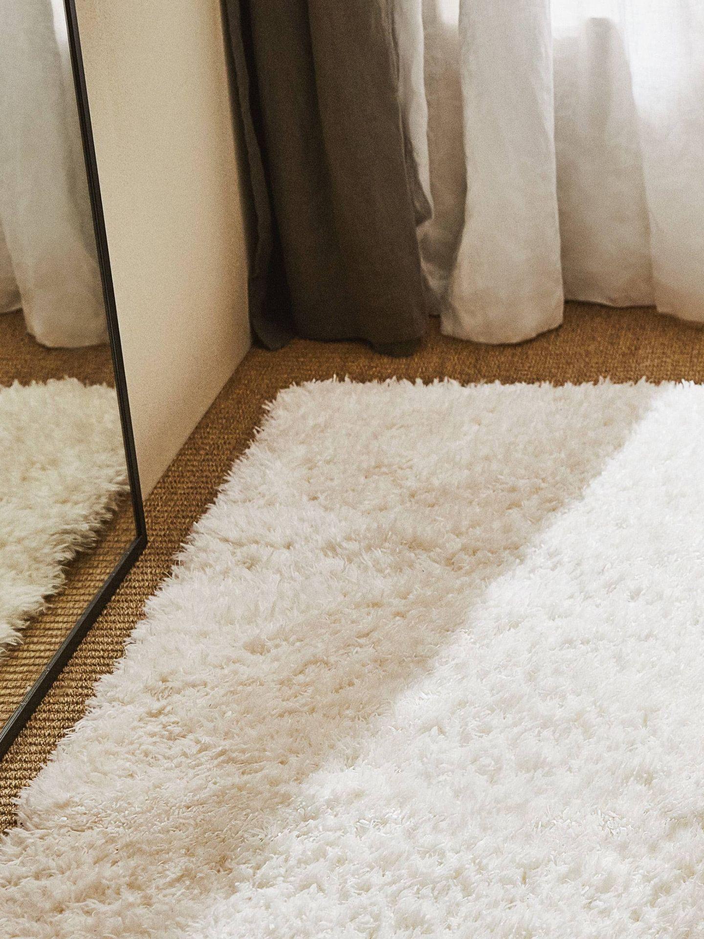 Alfombras de Zara Home para renovar tu dormitorio. (Cortesía)