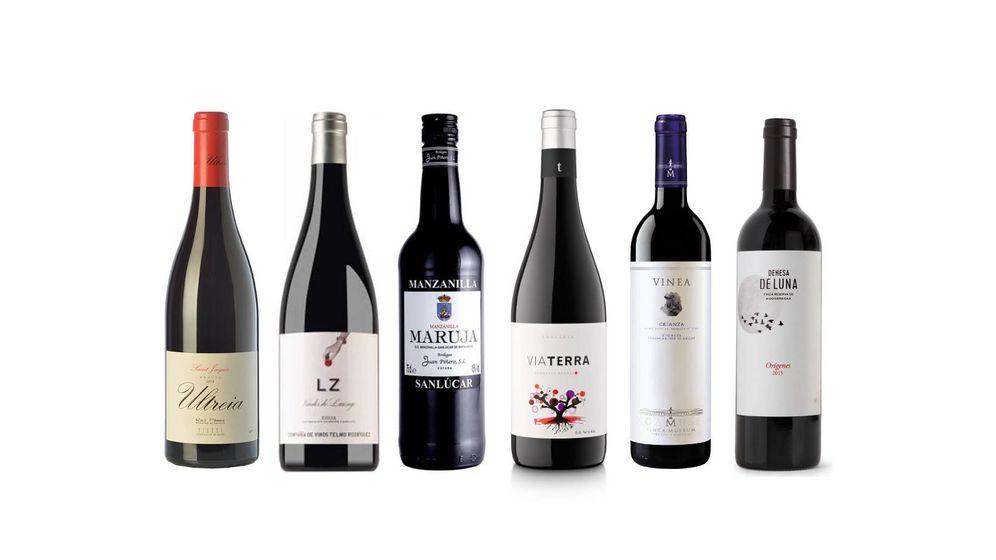 Foto: Seis vinos por menos de 10 euros.
